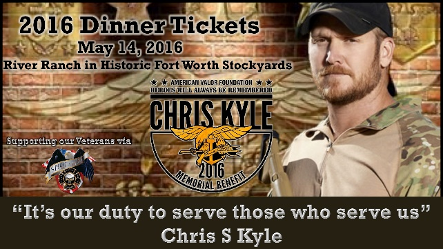 2016 Chris Kyle Memorial Benefit!